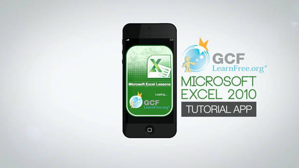 Excel 2010 Tutorial App